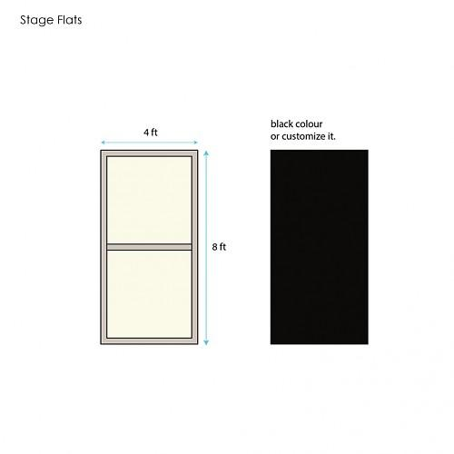 8 x 4 Stage Flats