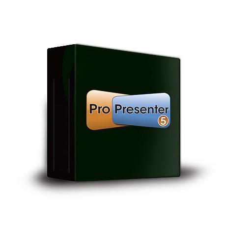 Renewed vision ProPresenter 5