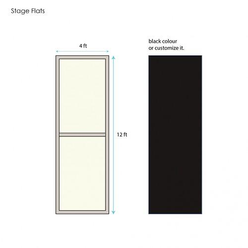 Stage Flat 12ft x 4ft